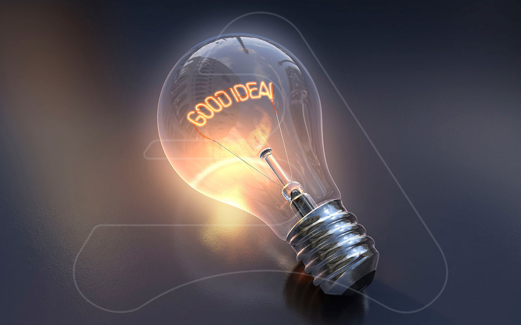 Light Bulb / TBWA Madrid / 3D Modelling and illustration