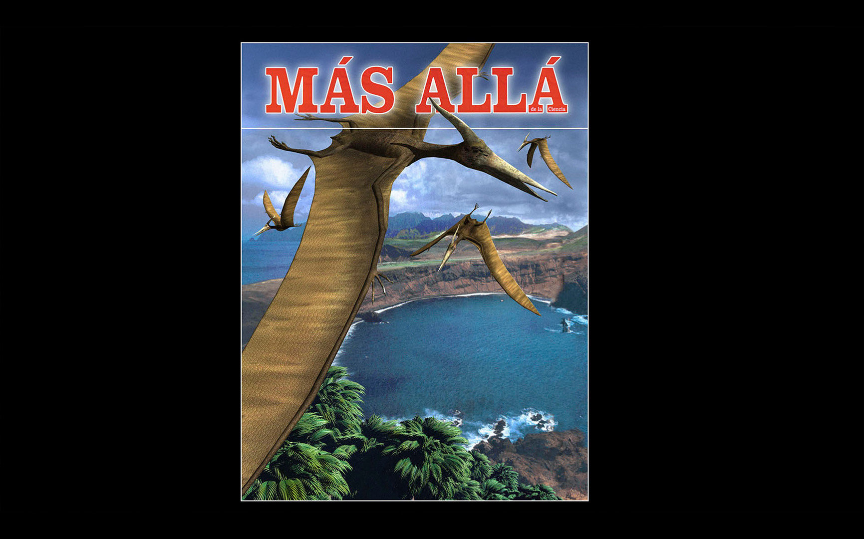 Pterodactyls at present time / MC publishers / 3D modeling and llustration