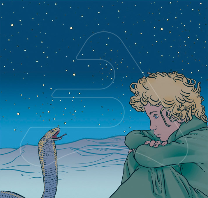 The Little Prince / Origo / Copec / Talking to the snake