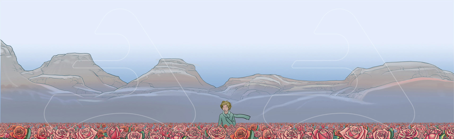 The Little Prince / Origo / Copec / Roses Field