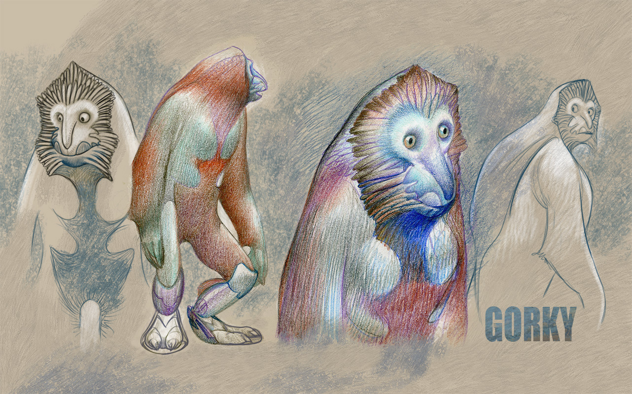 Gorky / Character desing exploration