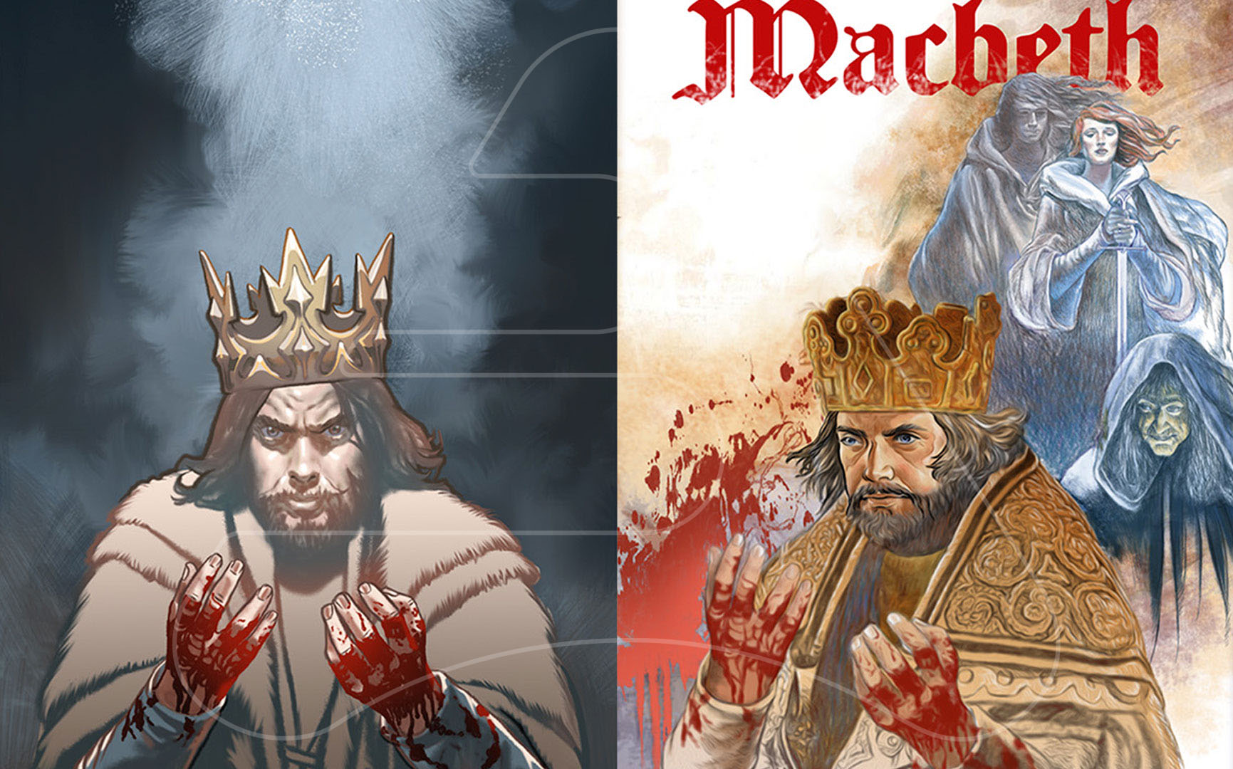 Macbeth / Origo publishers / Digital Illustration