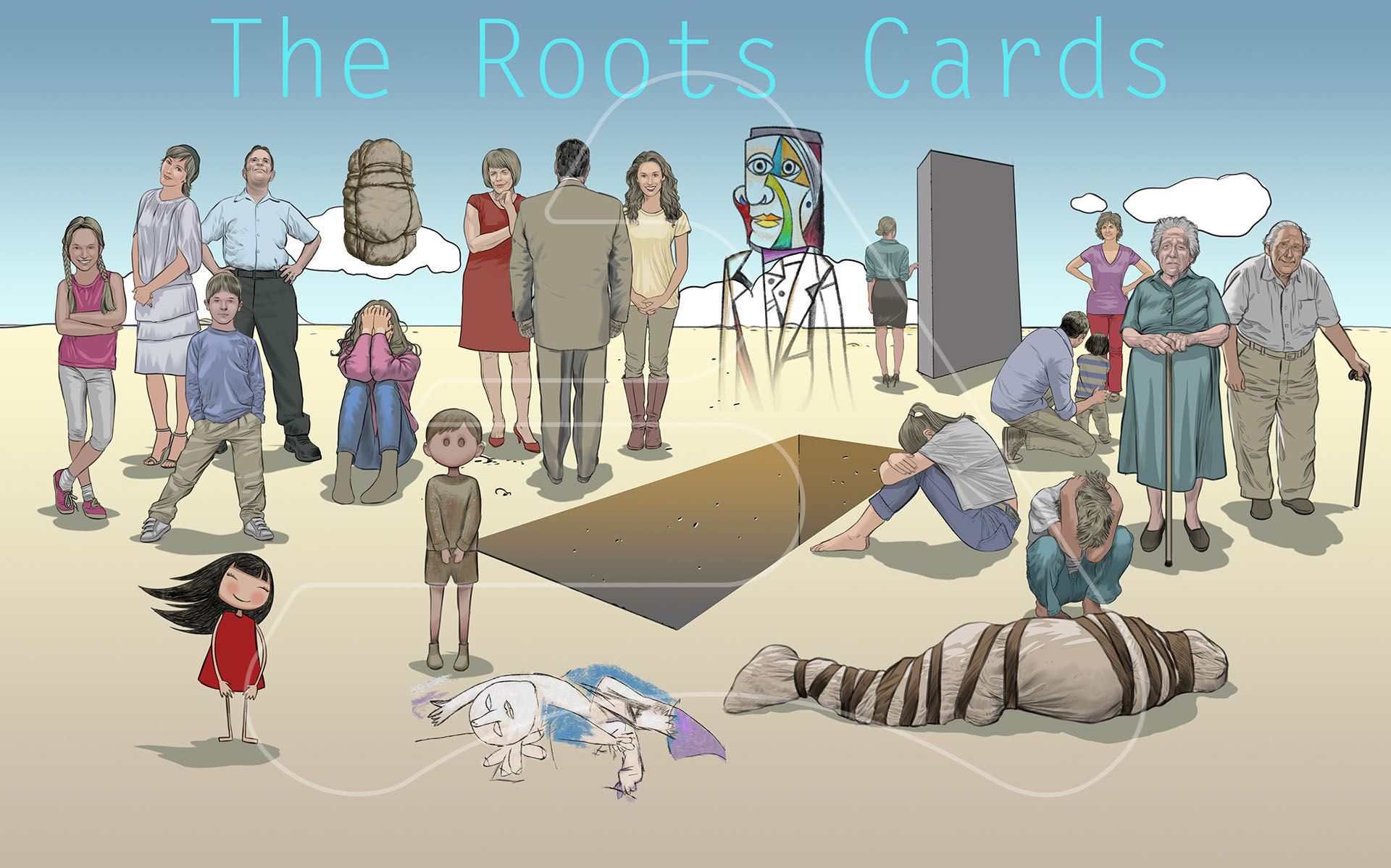 The Roots Cards / Family Constellations Project / Chile