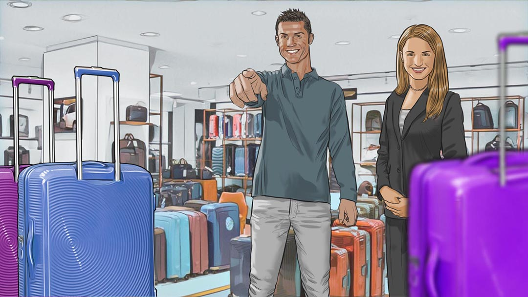 American Tourister / TBWA - Madrid / TV 40/s - 6/23